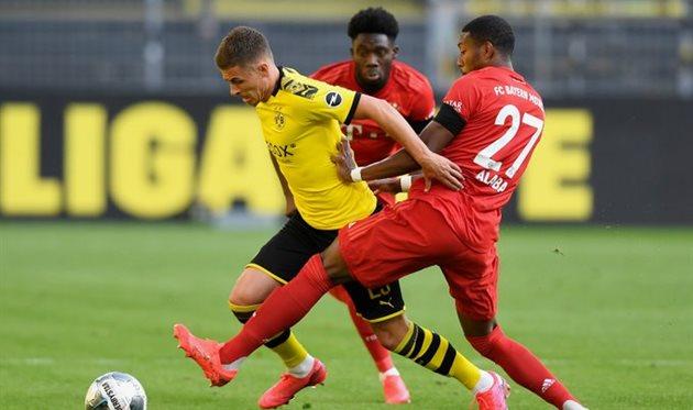 Боруссия Д — Бавария 0:1 Видео гола и обзор матча