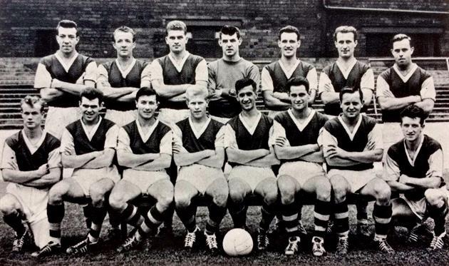 Футболисты Бернли в сезоне-1959/60