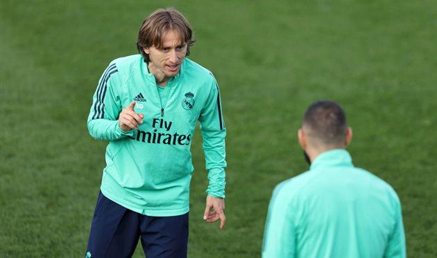 Тренировка Реала, getty images