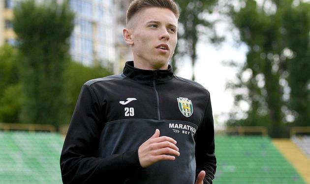 Егор Назарина, фото ФК Карпаты