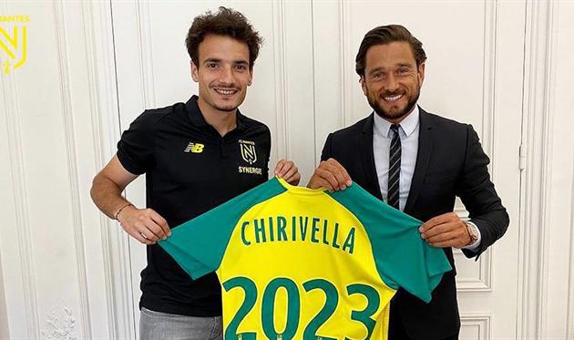 Педро Чиривелья, FC Nantes