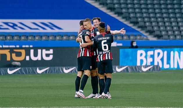 Фото: twitter.com/Eintracht