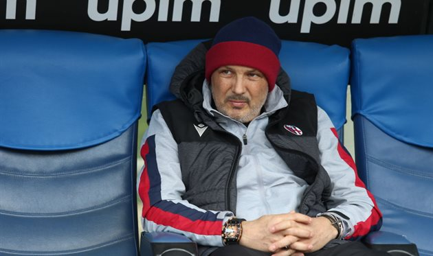 Тренер Болоньи Синиша Михайлович, Getty Images
