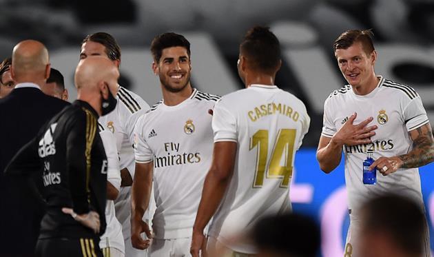Игроки Реала, getty images