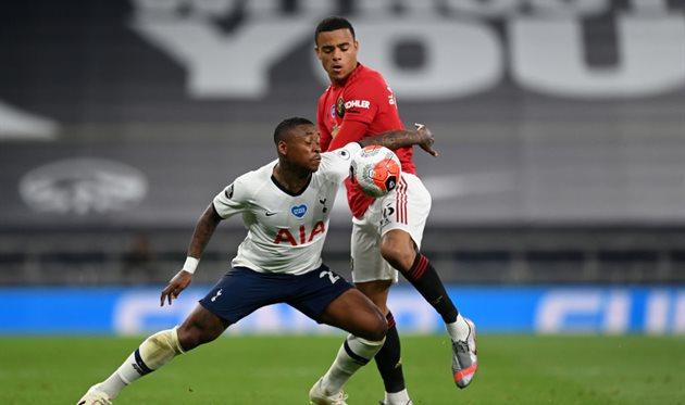 Манчестер Юнайтед сыграл вничью с Тоттенхэмом