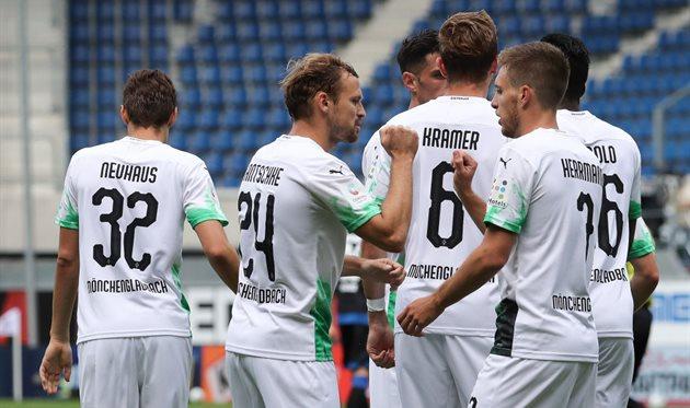 Боруссия М вытеснила Байер из зоны Лиги чемпионов