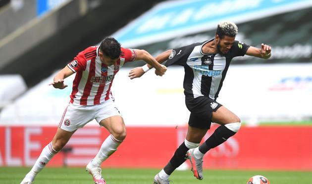 Ньюкасл - Шеффилд Юнайтед, Getty Images