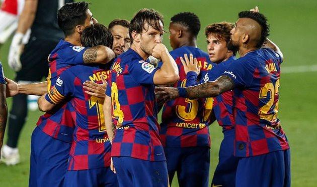 Барселона с трудом обыграла Атлетик — football.ua