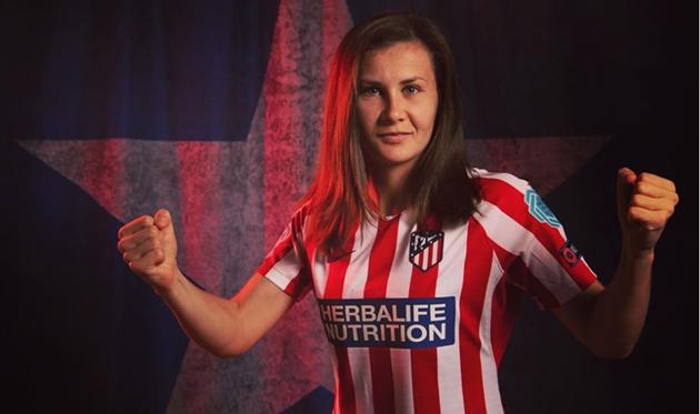 Ольга Овдийчук, фото Atletico de Madrid Femenino