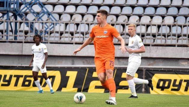 Даниил Игнатенко, фото ФК Мариуполь