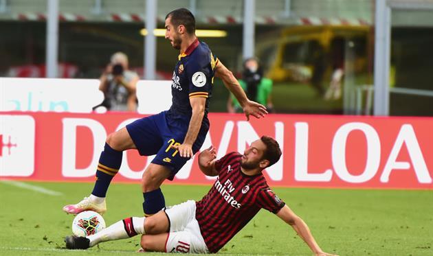 Милан - Рома, Getty Images