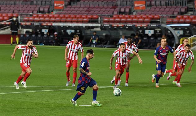 Барселона — Атлетико, Getty Images