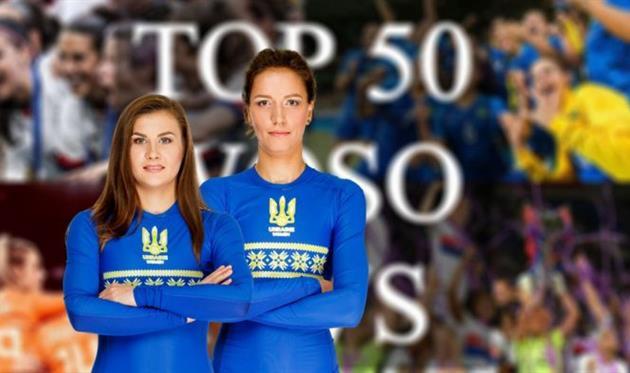 Ольга Овдийчук и Дарья Апанащенко, womensfootball.com.ua