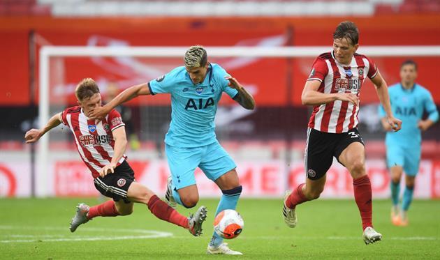 Шеффилд Юнайтед — Тоттенхэм, Getty Images