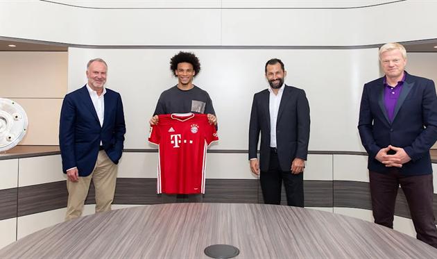 Салихамиджич и Сане на презентации в Баварии, FC Bayern
