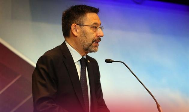 Хосеп Мария Бартомеу, фото ФК Барселона