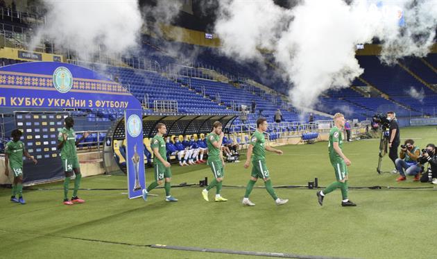 Игроки Ворсклы перед финалом, фото: ФК Ворскла