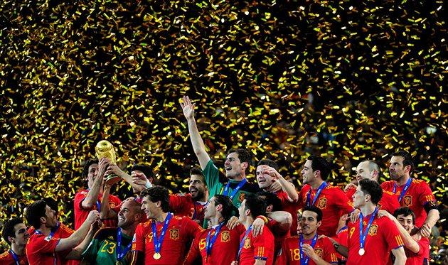 Сборная Испании - чемпион мира 2010 года, Getty Images