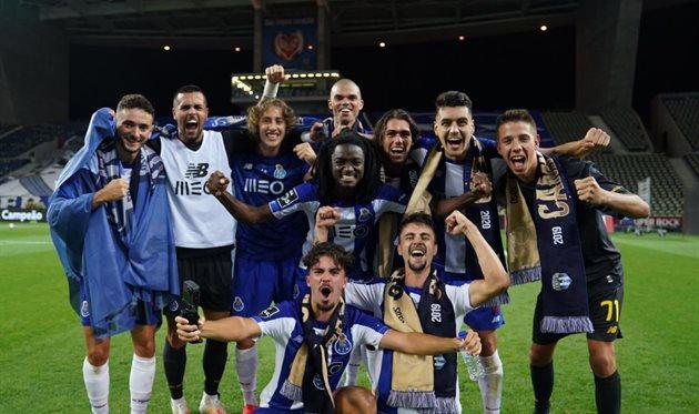 Порту — чемпион Португалии сезона-2019/20, фото ФК Порту