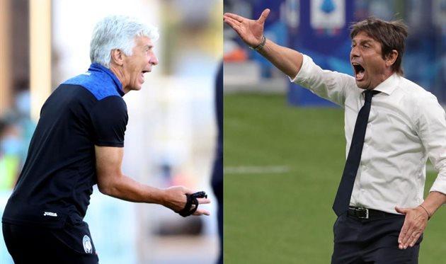 Джан Пьеро Гасперини и Антонио Конте задачу-минимум на сезон выполнили, Getty Images