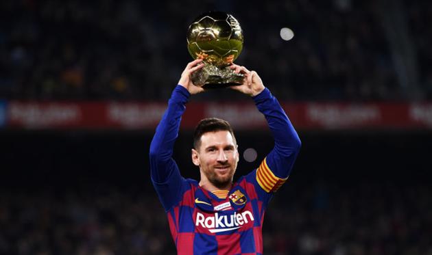 Лионель Месси с Золотым мячом, Getty Images