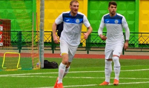Александр Жданов (слева), Футбольна Хмельниччина