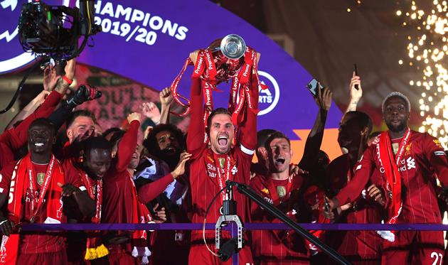 Ливерпуль - чемпион Англии сезона-2019/20, Getty Images