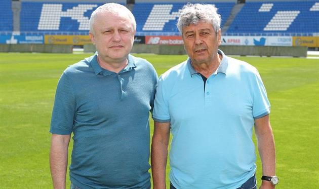 Игорь Суркис и Мирча Луческу, фото ФК Динамо