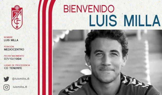 Луис Милья, Гранада