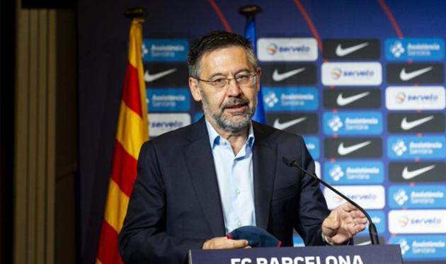 Жозеп Мария Бартомеу, фото ФК Барселона