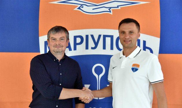 Остап Маркевич (справа), ФК Мариуполь