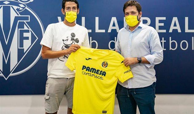 Дани Парехо (слева), фото ФК Вильярреал
