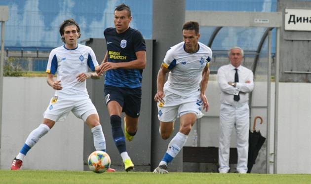Александр Тымчик (справа), ФК Динамо Киев