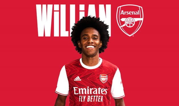 Официально: Виллиан — игрок Арсенала