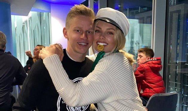 Александр Зинченко и Влада Седан, instagram.com/zinchenko_96