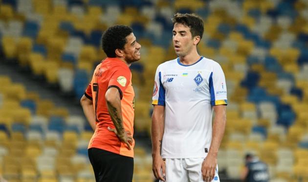 Тайсон и Карлос де Пена, фото ФК Динамо Киев