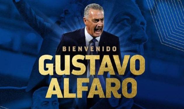 Густаво Альфаро, фото федерации футбола Эквадора