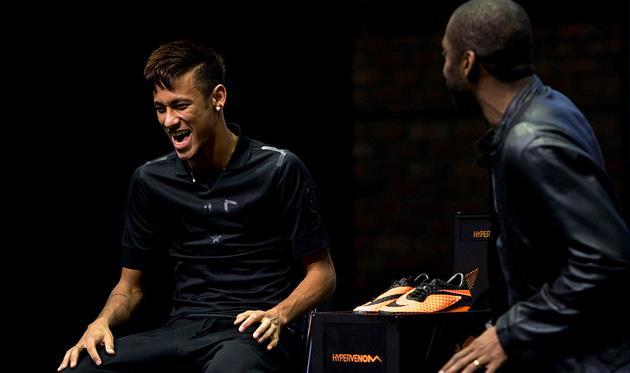 Неймар на запуске бутс Nike, Getty Images
