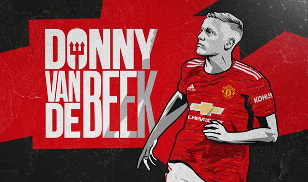 Донни ван де Беек, Манчестер Юнайтед