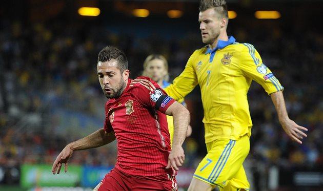 Испания - Украина, Getty Images