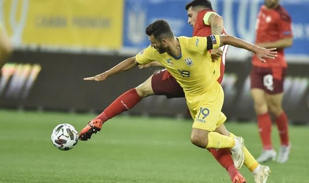 Жуниор Мораес в матче со Швейцарией, УАФ