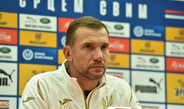 Андрей Шевченко, УАФ