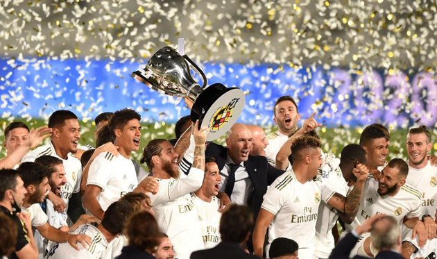 Реал отмечает чемпионский титул, Getty Images