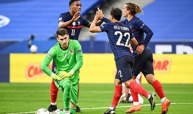 франция одержала победу над хорватией, getty images