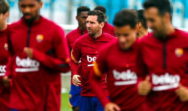 Лионель Месси, фото Барселона