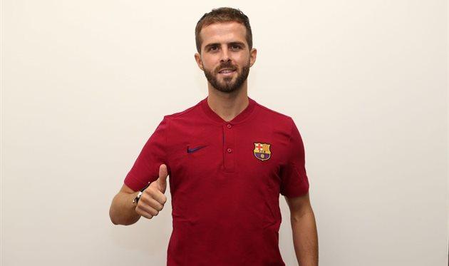 Миралем Пьянич, ФК Барселона