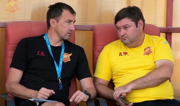 Сергей Лавриненко (слева), фото ФК Ингулец