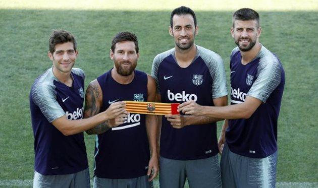 Капитаны Барселоны, FC Barcelona