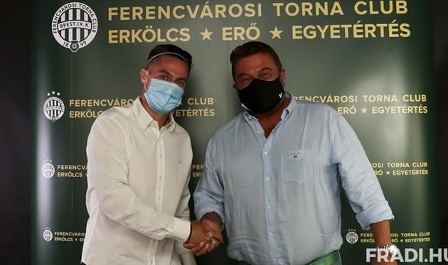 Ференцварош подписал Мака