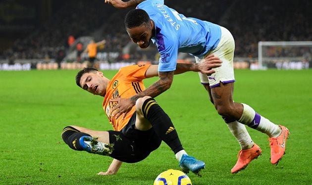 Вулверхэмптон - Манчестер Сити, Getty Images